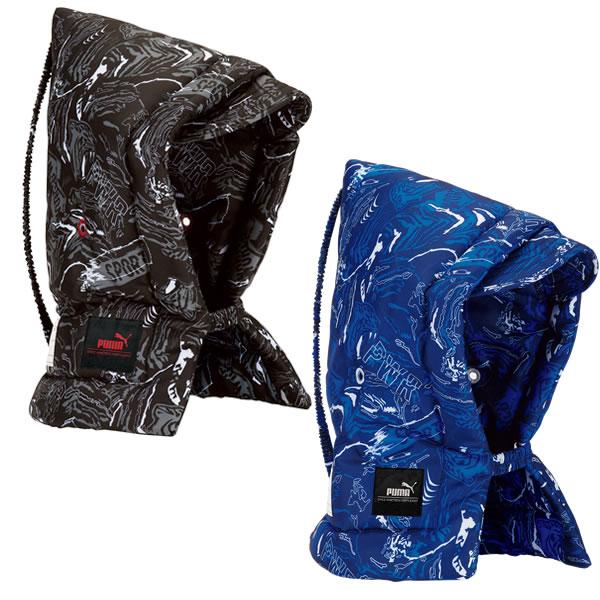 難燃加工の生地 中綿を使用 在庫一掃 全2色 クツワ プーマ PUMA 緊急時に必要な名前欄付 PM260 防災ずきん 《週末限定タイムセール》 KUTSUWA