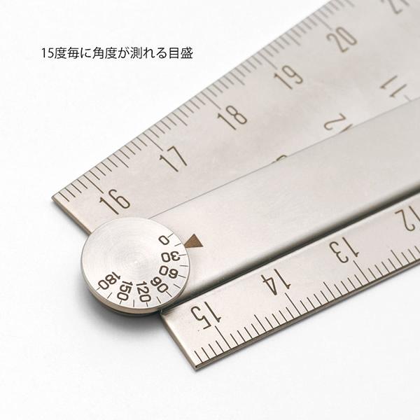 ミドリ/ステンレスマルチ定規<31cm>42271006機能性と耐久性を兼ね備え