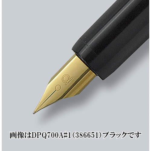 플래티넘 만년필/데스크 펜 (DPQ-700A # 10/386652) 레드 만년필 타입-1 년간 건조를 방지 하는 고성능 캡! 장부 · 서류 · 이력서에 최적!