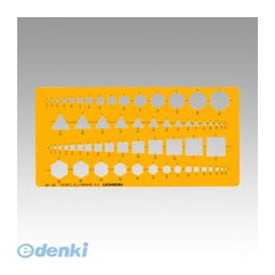 ウチダ [1-843-0120] 【30個入】 テンプレート No.120 組合せ定規 18430120