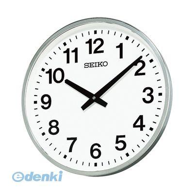 セイコー KH411S 屋外・防雨型掛時計【1個】【送料無料】