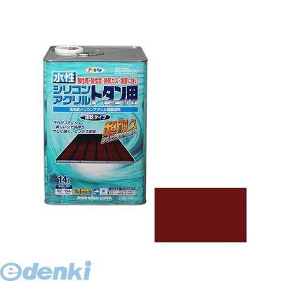 アサヒペン 4970925453303 アサヒペン 水性シリコンアクリルトタン用 14L 赤さび【送料無料】