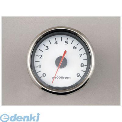 デイトナ(DAYTONA) [65704] 電気式タコメーター 9000rpm φ60 LED/ホワイトP