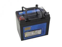 【個数:1個】 12DD-33 直送 代引不可・他メーカー同梱不可 バッテリー 12DD33