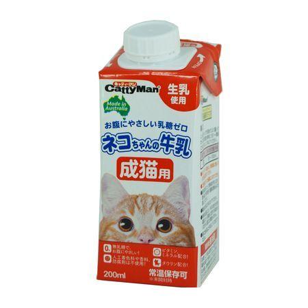 ドギーマン メーカー公式ショップ 4974926010336 ネコちゃんの牛乳 絶品 成猫用 200ml