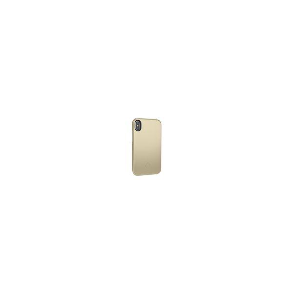 【予約受付中】【4月下旬以降入荷予定】 4965337020052 【100個入】 ライト/ミラー付きiPhoneケース XRゴールド 0052