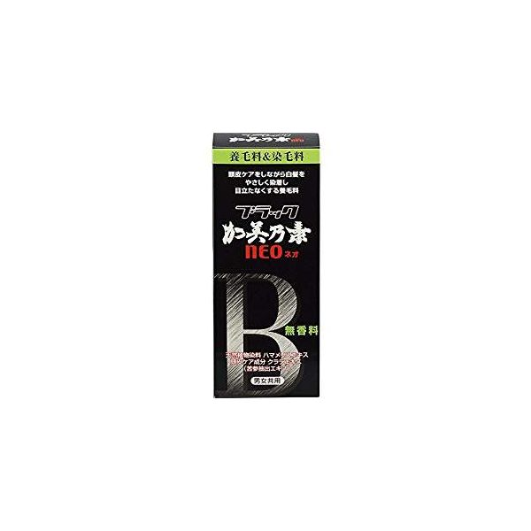 4987046370105 【36個入】 ブラック加美乃素NEO 無香料 医薬部外品 150ml