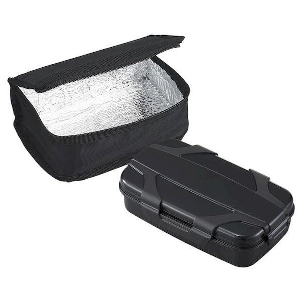 4970825100819 【10個入】 ロックフォー ランチボックス保冷バッグ付 L/F BL-25HI