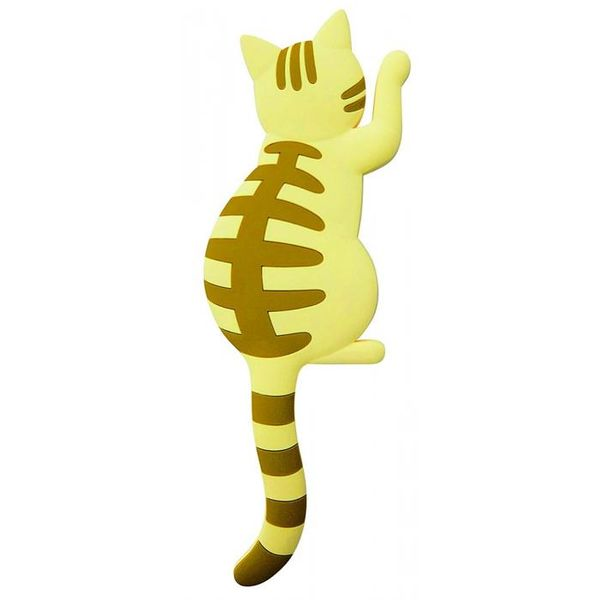 [4511546082932]【13個入】 マグネットフック Cat tail(キャットテイル)茶トラ