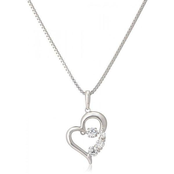 4560381901267 クロスフォー ニューヨークタダンシングストーンペンダント D-3tone Heart NYP-585