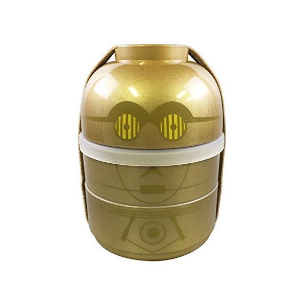 [4984909164154] 【5個入】 漆器2段ランチボックス(C-3PO)16415