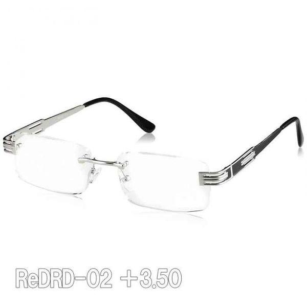 [4990091014467] 【5個入】 魅せる老眼鏡ReDRD-02 +3.50