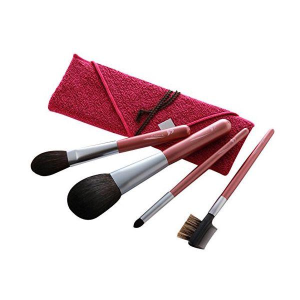 4560360502362 尺 瑞穂化粧筆シリーズ 発色が綺麗な4本セット 筆包み付 32951