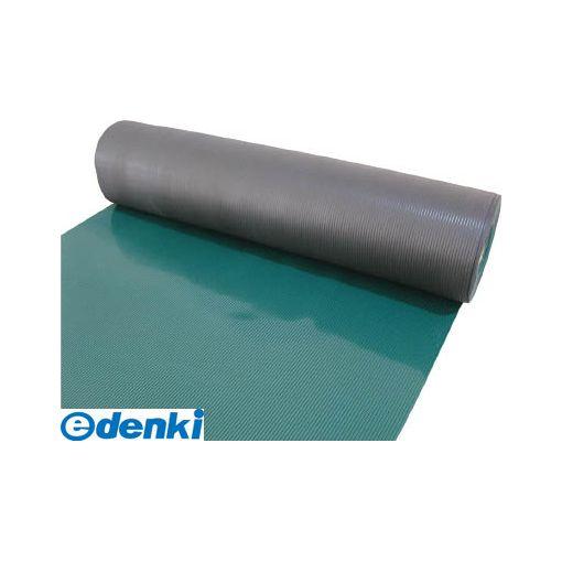 トラスコ(TRUSCO) [TEBM-920-GN] 塩ビマット B山 グリーン 1.5mmX915mmX20mTEBM920GN3100