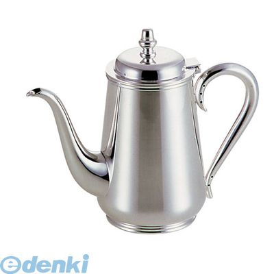 【受注生産品 納期-約2週間】[TKC10005] 洋白3.8μ東型コーヒーポット 5人用 4905001325670