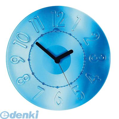 RGTE604 グッチーニ ウォールクロック 0499.0066 ブルー 8008392155119
