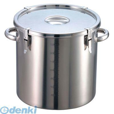 [8044400] EBM 18-8 パッキン寸胴鍋(目盛付)36 手付 4548170054837