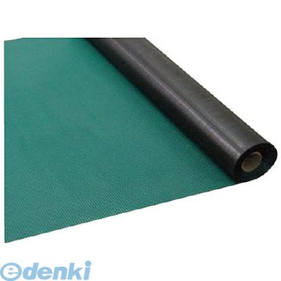 【個数:1個】ワニ印[003021] 塩ビマット ピラマット グリーン 1.5mm厚×915mm×20m巻