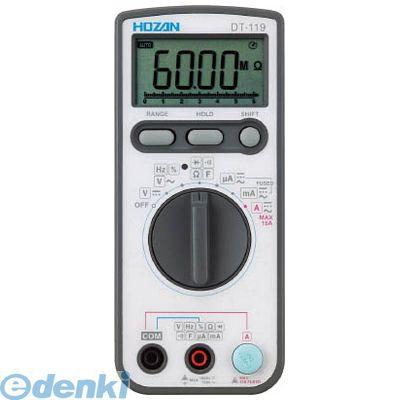 【個数:1個】ホーザン(株) [DT-119] デジタルマルチメータ