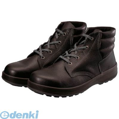 シモン Simon WS22BK-28.0 3層底安全編上靴
