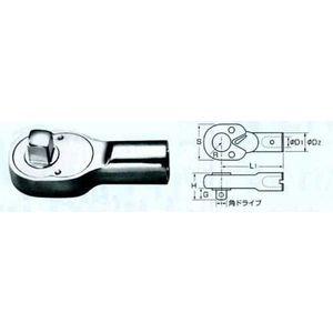 中村製作所(KANON) [1000QCK] QCK形ラチェットヘッド (カノン) 1000QCK【キャンセル不可】