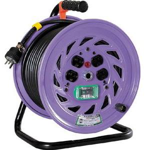 【あす楽対応】日動工業(NICHIDO) [NF-EB230-15A] 電工ドラム 単相200Vドラム アース漏電 NFEB23015A