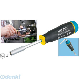 【納期-通常7日以内に発送 在庫切れ時-約2ヶ月】ハゼット HAZET 6001-1.5/3 トルクスクリュードライバー3ピース 60011.5/3