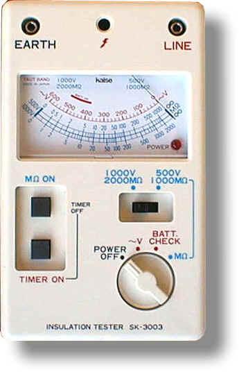 カイセ SK-3003 絶縁抵抗計 SK3003