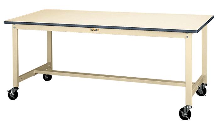 【個人宅配送不可】山金工業 SWRC-960-II 直送 代引不可・他メーカー同梱不可ワークテーブル 作業台 300シリーズ 移動式:H740 W900*D600*H740 SWRC960II