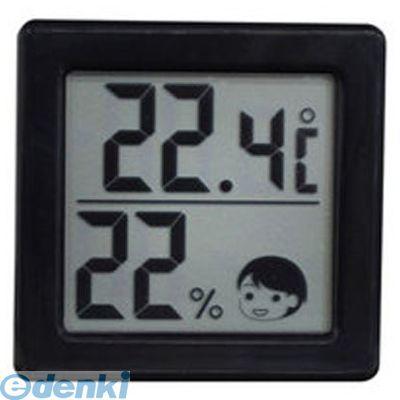 ドリテック DRETEC O-257BK デジタル温湿度計 ブラック O257BK【ポイント10倍】