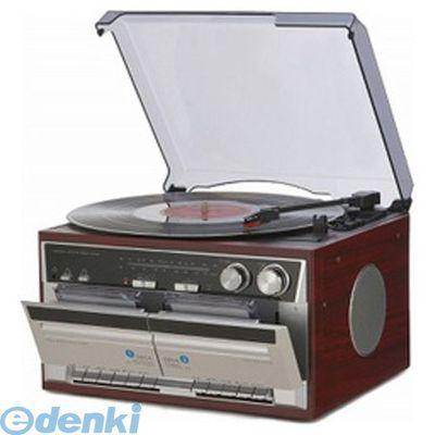 とうしょう [TT-386W] 木目調・Wカセット・レコードプレーヤー TT386W