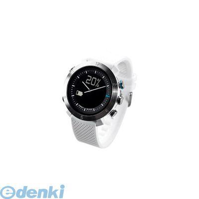 CONNECTEDEVICE [4562187616178] Bluetooth SMART対応アナログ腕時計 COGITO CLASSIC シリコンバンド ホワイト【送料無料】