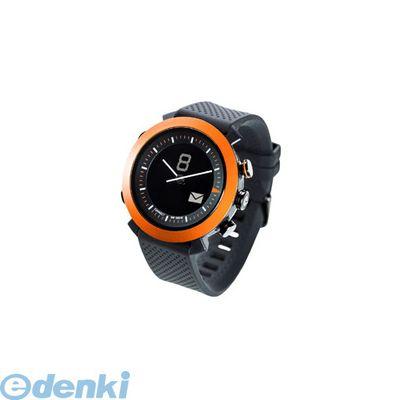 CONNECTEDEVICE [4562187616192] Bluetooth SMART対応アナログ腕時計 COGITO CLASSIC シリコンバンド オレンジ【送料無料】