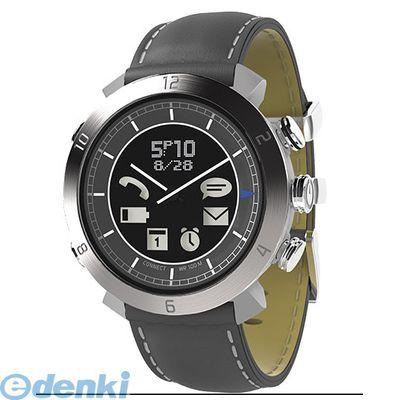 CONNECTEDEVICE [4562187616307] Bluetooth SMART対応アナログ腕時計 COGITO CLASSIC レザー/ナイロンバンド レザー:グレー【送料無料】
