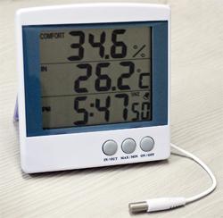 エムケー MK HT-9217 未使用品 HT9217 デジタル温湿度計 捧呈