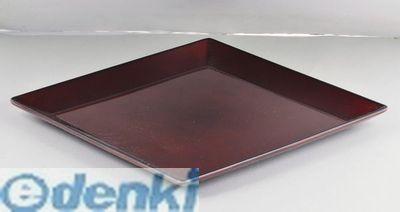 注目ブランド パール金属 K-6128 漆器彩 クリーンコート角大皿 キャンセル不可 赤溜 倉庫 K6128