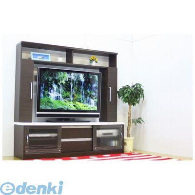 【個数:1個】大川リビング木工社 OKAWA LIVING 4560463780131 直送 代引不可・他メーカー同梱不可 150TVボード チェイサー BR
