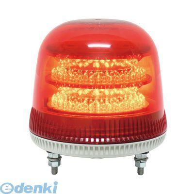 【個数:1個】日恵 VL17M-100APR 直送 代引不可・他メーカー同梱不可 LED回転灯φ170 ニコモア【赤】 AC100V VL17M100APR