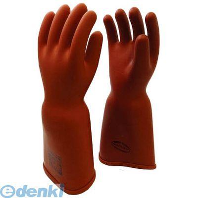 【あす楽対応】【個数:1個】渡部工業 [550L] 高圧ゴム手袋410mm胴太型L【送料無料】