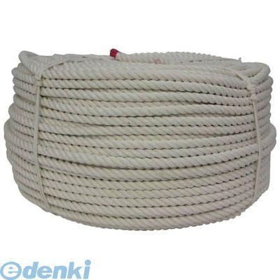 美しい ロープ ユタカメイク 12φ×200m:文具のブングット 綿ロープ巻物 C12200-DIY・工具