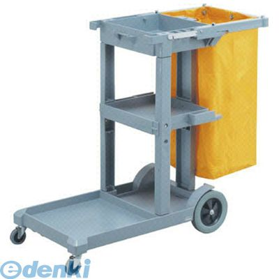 【個数:1個】山崎産業 [CA385000XMB] 【清掃カート】プロテック ツールカートJ