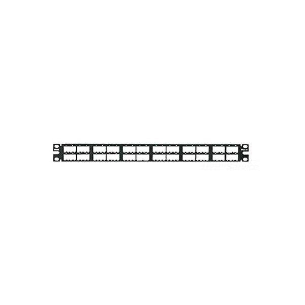 パンドウイット CPP48HDWBLY 高密度モジュラ-パッチパネル 48P<枠のみ>