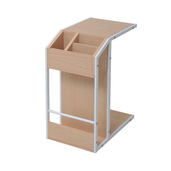 【お客様組立】JKプラン DRT-0008-WH 直送 代引不可・他メーカー同梱不可 Re・conte Rita series Sofa Side TableDRT0008WH
