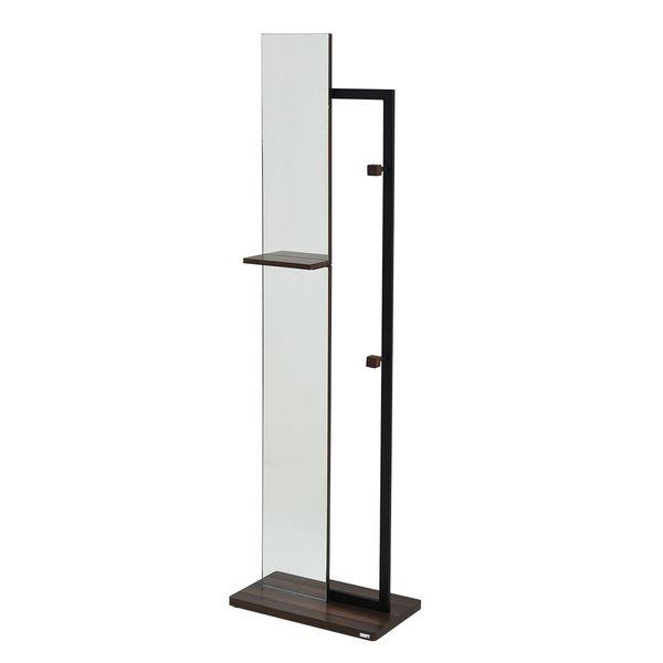 【お客様組立】JKプラン DRT-1005-BK 直送 代引不可・他メーカー同梱不可 【Re・conte】 Rita series Hanger MirrorDRT1005BK