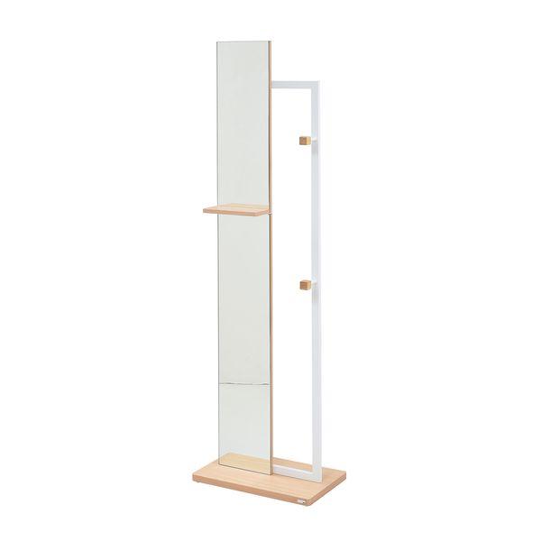 【お客様組立】JKプラン DRT-1005-WH 直送 代引不可・他メーカー同梱不可 【Re・conte】 Rita series Hanger MirrorDRT1005WH