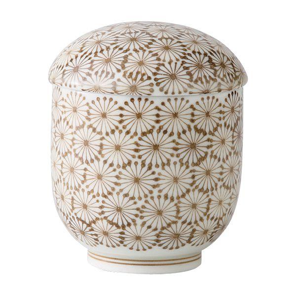 西海陶器 21327 【5個入】 亀甲紋 小むし碗 西海陶器 21327 【5個入】 亀甲紋 小むし碗