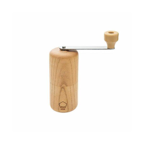 川崎合成樹脂 MI-008 ウッドコーヒーミル 欅 MI008