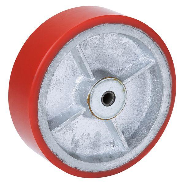 オーエッチ工業 75FU-300 ウレタン車輪 75FU300
