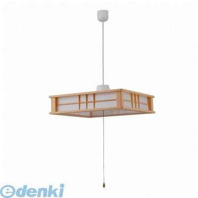 オーム電機 06-0186 LED和風ペンダントライト 12畳用 LT-W60DAG 060186