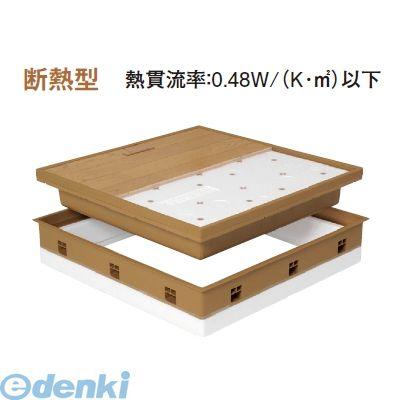 城東テクノ(Joto)[SPF-R60C-UA1-MB] 「直送」【代引不可・他メーカー同梱不可】 高気密型床下点検口(断熱型) 600×600 クッションフロア合わせタイプ 色ミディアムブラウン SPFR60CUA1MB